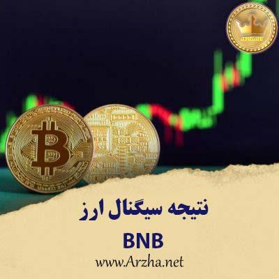 نتیجه سیگنال ارز دیجیتال BNB